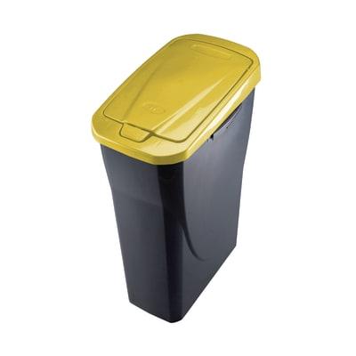 Pattumiera Ecobin 25 L grigio
