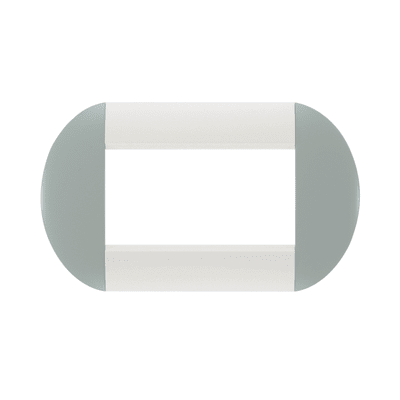 Placca 4 moduli BTicino Livinglight sky