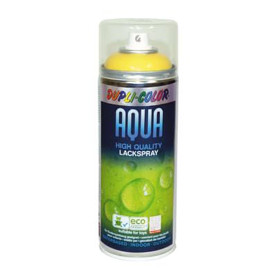 Smalto spray Aqua giallo traffico RAL 1023 Lucido 350 ml