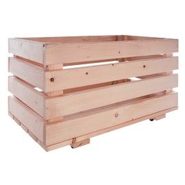 Scaffali in legno grezzo prezzi e offerte online leroy for Corrimano in legno leroy merlin