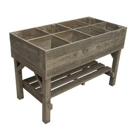 Fioriere in legno con grigliato o senza fioriere per orti - Portavasi in ferro ikea ...